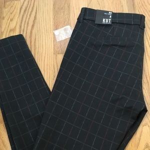 NWT KUT from the Kloth Plaid Ankle Pants